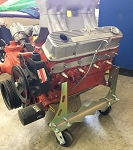 Mopar Small Block Engine Dolly with swivel casters