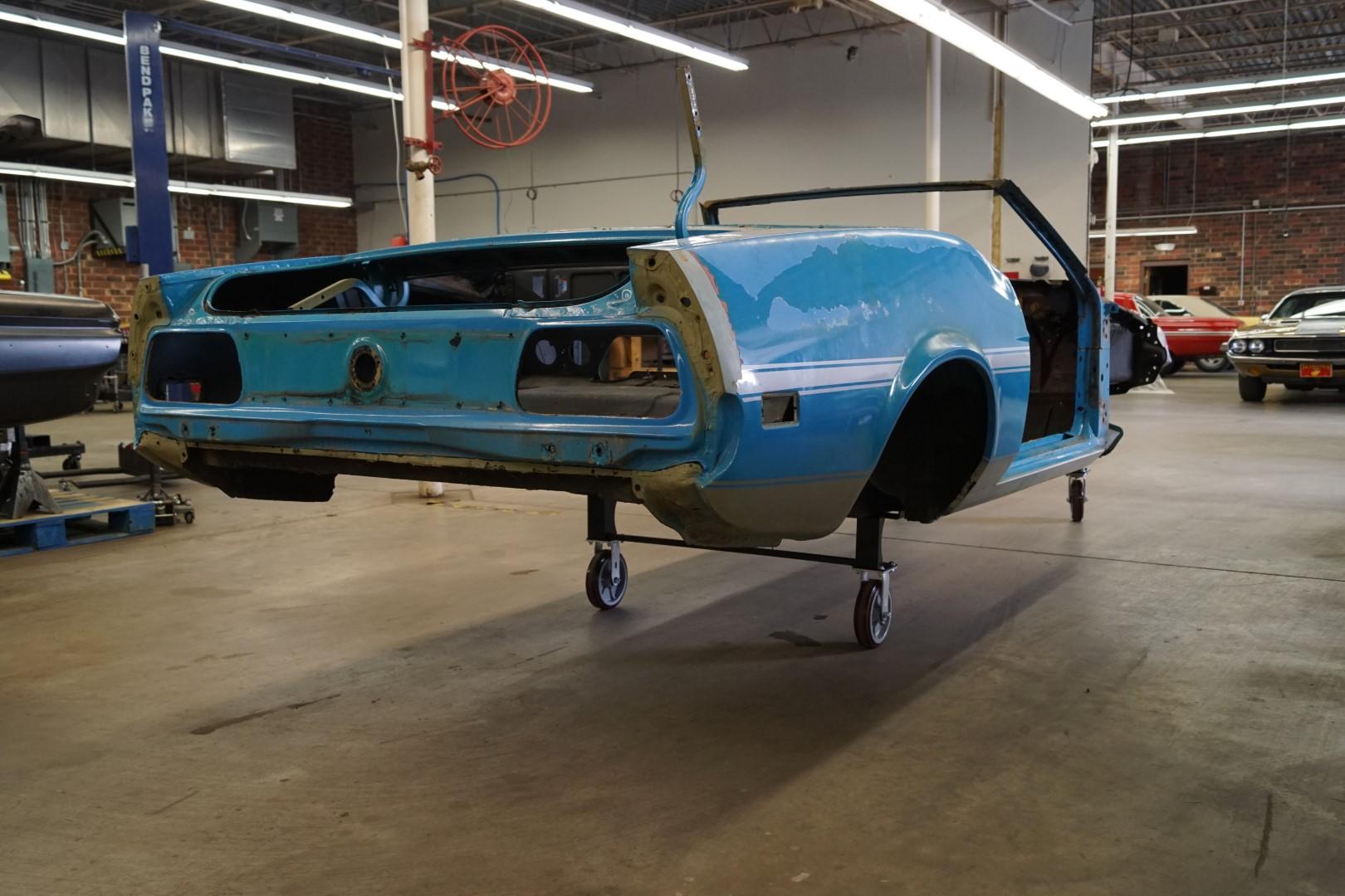 1965 1971 mustang car moving body wheel set