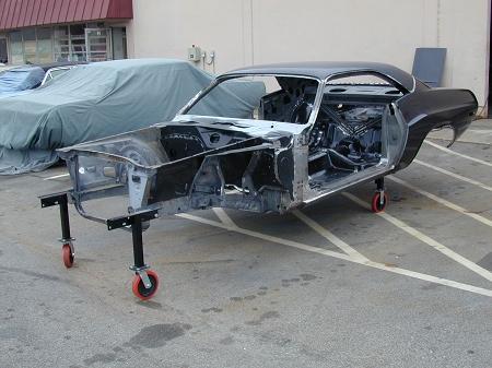 Mopar A B E Body Car Moving Body Wheel Set