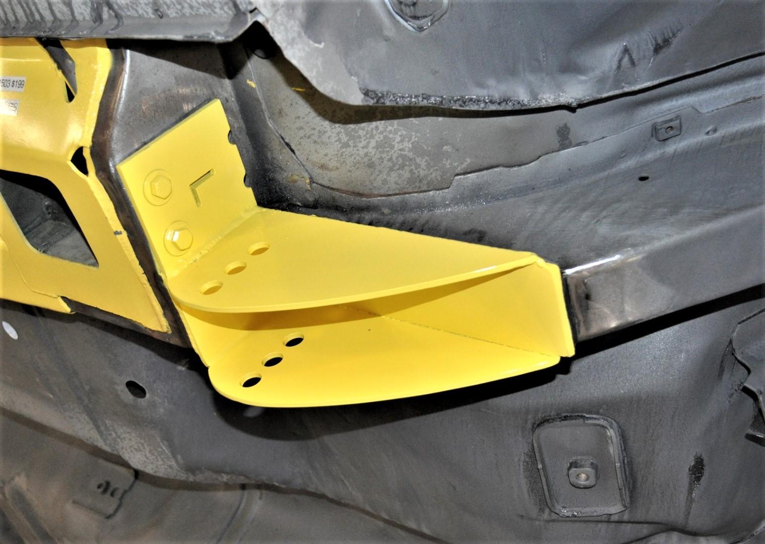 Mopar A-Body 63-75 Spring Hanger Relocation Kit
