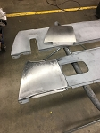 70-74 Cuda Rear Valence Bump removal panel