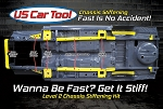 Level 2 Chassis Stiffening Kit E Body 70-74 Plymouth Cuda