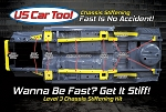 Level 3 Chassis Stiffening Kit 70-74 E-Body US Car Tool Mopar Plymouth Cuda Barracuda