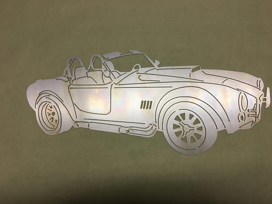 Wall Art - Shelby Cobra