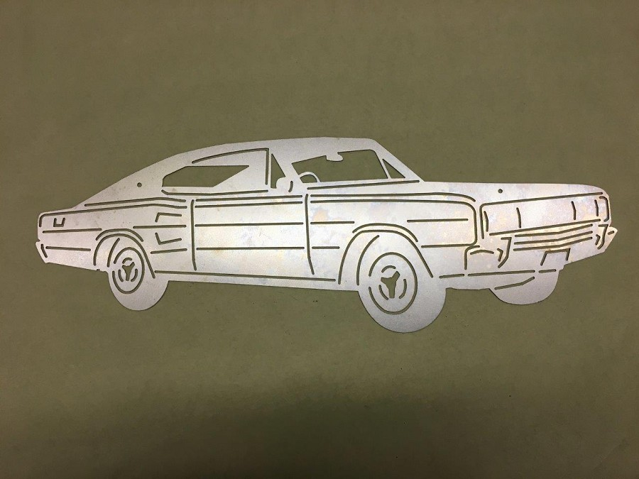 Wall Art 1966/1967 Dodge Charger Fastback