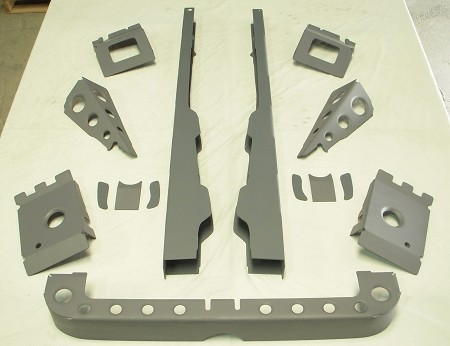 70-75 Dodge Plymouth Level 2 Chassis Stiffening Pack